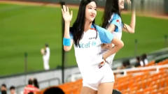 韩国棒球美女啦啦队,气质高雅清纯,就看一遍