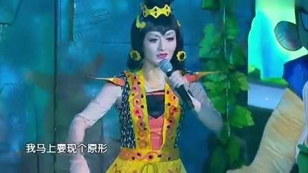谢娜演唱《葫芦娃》现场与何炅老师歌曲对唱,