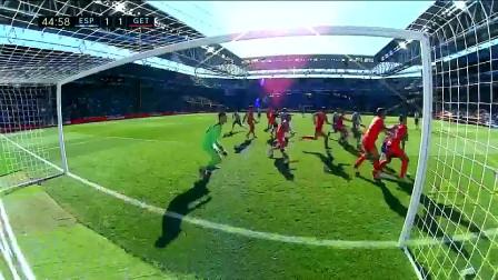 武磊破进球荒本赛季西甲首球 44分钟门前推射扳平比分