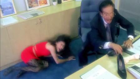 经理不务正业,和美女办公室暧昧!