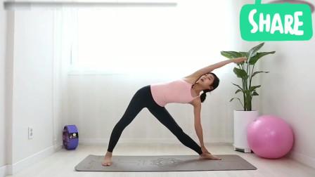 韩国美女练习瑜伽系列之四十八