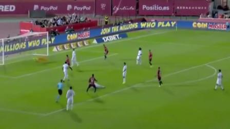 皇马0-1负于升班马,丢球后又吃红牌,助巴萨登顶西甲!
