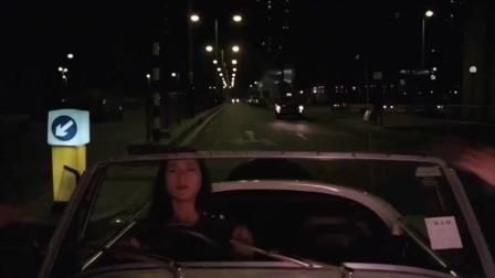 香港电影:美女醉酒开飞车,这车技,鬼都要吓