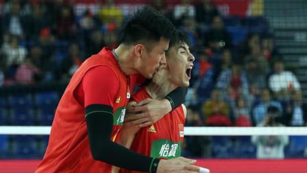 奥运资格赛中国男排3-1卡塔尔 决赛与伊朗争门票