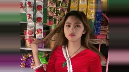 中国大哥到缅甸,就用五块钱就约到了缅甸美女