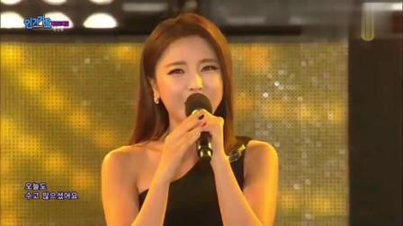 韩国美女 洪真英《活着》中毒性旋律 越听越好听