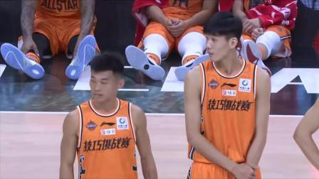 C*A全明星技巧赛决赛:陈培东VS王俊杰,洋葱哥的360度上篮抢镜了