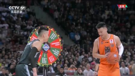 C*A全明星:林书豪VS赵睿1V1斗牛!双方打成8-8各自欢喜!