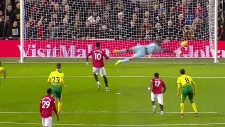 拉什福德梅开二度,曼联英超迎来4球大胜,终于可以好好争四了