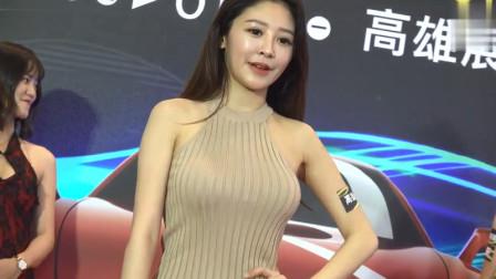 2020高雄车展漂亮美女模特谢侑芯 黄语辰精彩片段