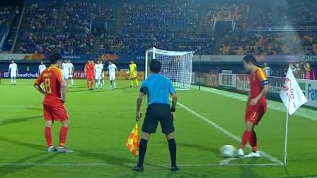 怎么看国奥这必越位战术角球?0-2再输无缘奥运,这就是中国足球希望吗