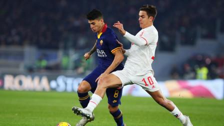 C罗点射建功德米拉尔破门伤退,尤文客场2-1罗马