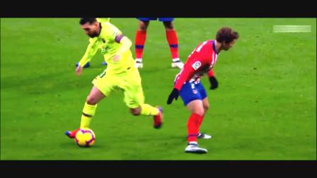 看梅西踢球就是有一种艺术感,他会让你在最短的时间爱上足球