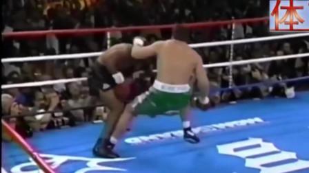 比泰森还残暴的拳手,一生都没输过,出拳速度让观众吓懵