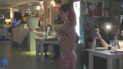 洛杉矶时装周 世界小姐泳装秀,模特在时尚晚宴中穿梭,美色可餐!