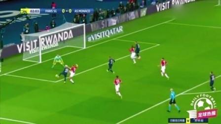 法甲-内马尔独造三球,后防频频失误,巴黎3-3憾平摩纳哥