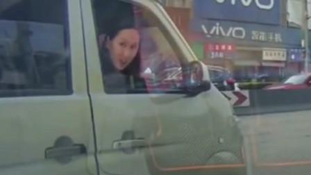 行车记录仪:美女的一个眼神,我就知道摊上事