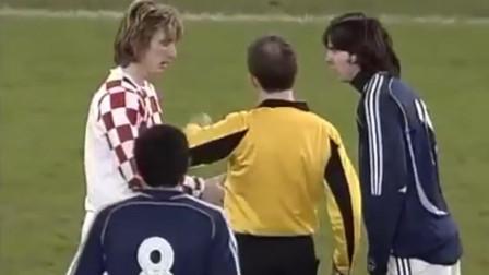 经典回顾!2006年,年经的梅西遇上年轻的莫德里奇,巴萨皇马双雄开启西甲新时代