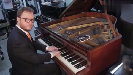 感受下上百万的钢琴与几万的区别!保证你不懂音乐,也会被折服