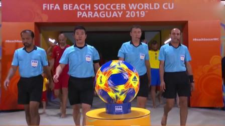 沙滩足球世界杯,巴西PK葡萄牙,各个都是内马尔C罗啊
