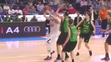 篮球:18岁的东契奇已在欧洲无敌了乔丹式换手上篮戏耍对手,只能去美职联了