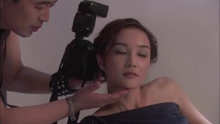 可爱美女拍写真,摄影师还动手动脚的!