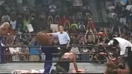 卡尔马龙和罗德曼打WWE, N*A不让打架, 那就换个场地战斗!