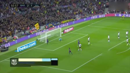 西甲-梅西缺阵 苏神2球 16岁天才传射 巴萨5-2大胜瓦伦西亚