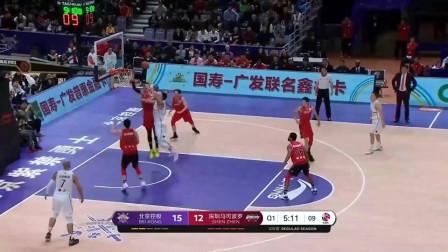 王少杰vs深圳男篮个人集锦:最后的死亡封盖太重要了