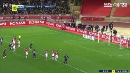 法甲-内马尔传射姆巴佩双响 巴黎圣日耳曼4-1摩纳哥