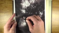 素描碳条风景画的表现手法