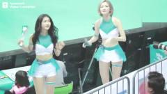 韩国美女啦啦队现场热舞 网友:我要爱上棒球赛