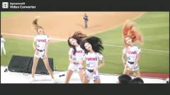 美女啦啦队:好喜欢小姐姐跳得这段舞
