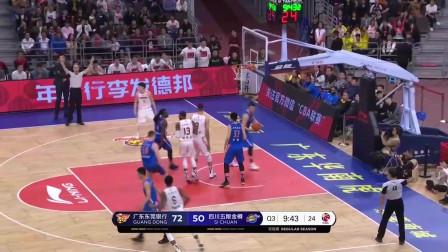 马尚vs四川男篮个人集锦:29+8场场如此稳定 要加