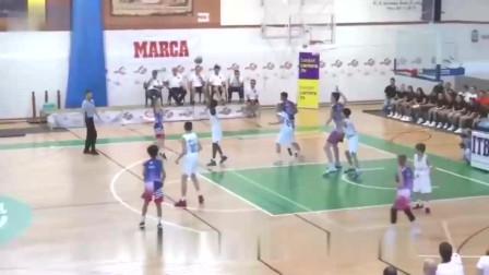 欧洲12岁少年身高2米12,已经得到美国篮球名校的邀请,未来会是N*A的佼佼者?
