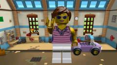 乐高城市 汽车积木游戏 143期美女 儿童玩具积木