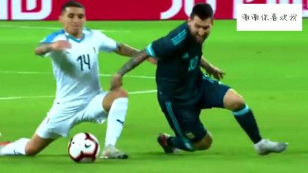 足球赛场大将魅力!梅西真的太厉害了!