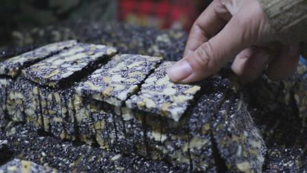 农村人自家做健康零食,不用一滴水和油,做出香甜美味的养生零食