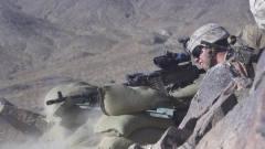 不带墨镜不上场!实拍美国陆军军事演习!