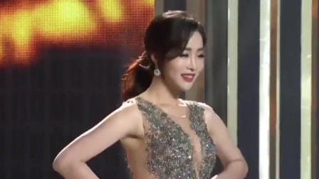 时尚可爱走秀:感受一下韩国美女的魅力,气质迷人,高贵优雅