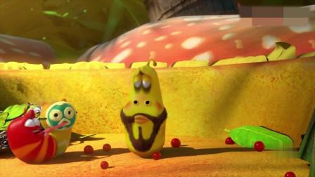 搞笑动画:野人和小黄互换了身体,自己变成一