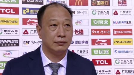 赛后采访-同曦主帅崔万军:球队受到伤病影响但