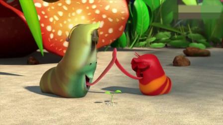 搞笑动画:小红和小黄辛辛苦苦种的玉米白菜全
