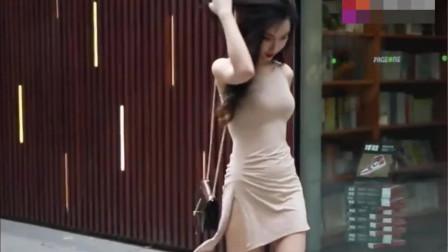街拍:完美身材的美女,不接受任何反驳