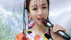 蒙古美女翻唱《拉萨夜雨》,精致的五官,唱出