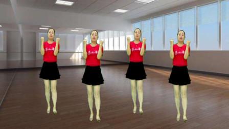 网络热门舞曲健身操《长的漂亮不如活的漂亮》