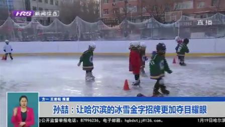"""哈尔滨推动冰雪体育、文化、旅游融合,让""""冰"""