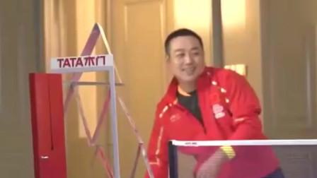我大中国的体育艺术:乒乓球!刘国梁的表演恐怕张继科也做不到!