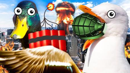 乌鸦模拟器:能够摧毁整个城市,steam上谁买谁后悔的游戏