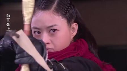 美女神箭手找汉奸复仇,不料300米开外一箭射中